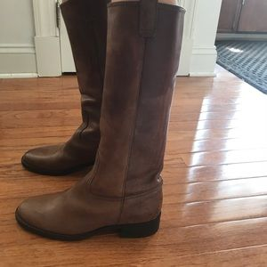 J.Crew Leather Boots